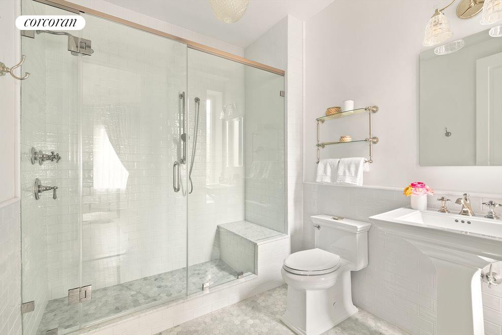New York City Real Estate | View 44 Montgomery Place | Guest Bathroom
