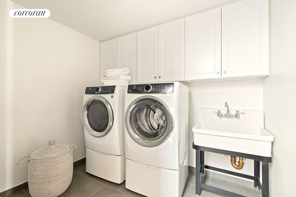 New York City Real Estate | View 44 Montgomery Place | Laundry Room