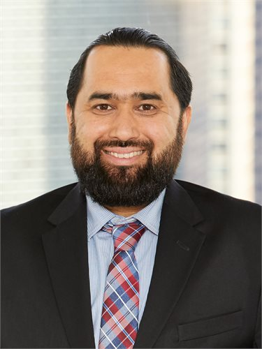 Shabir Ahmad, a top realtor in New York City for Corcoran, a real estate firm in Brooklyn Heights.