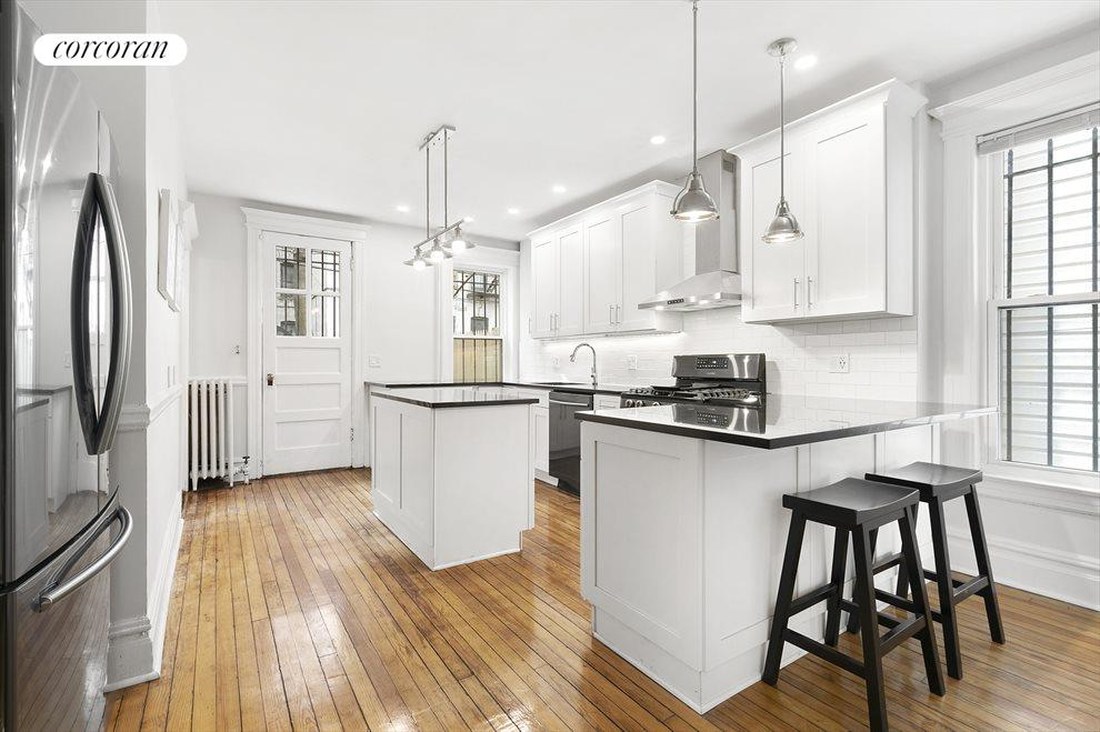 New York City Real Estate | View 56 Hawthorne Street | Tech Friendly Kitchen