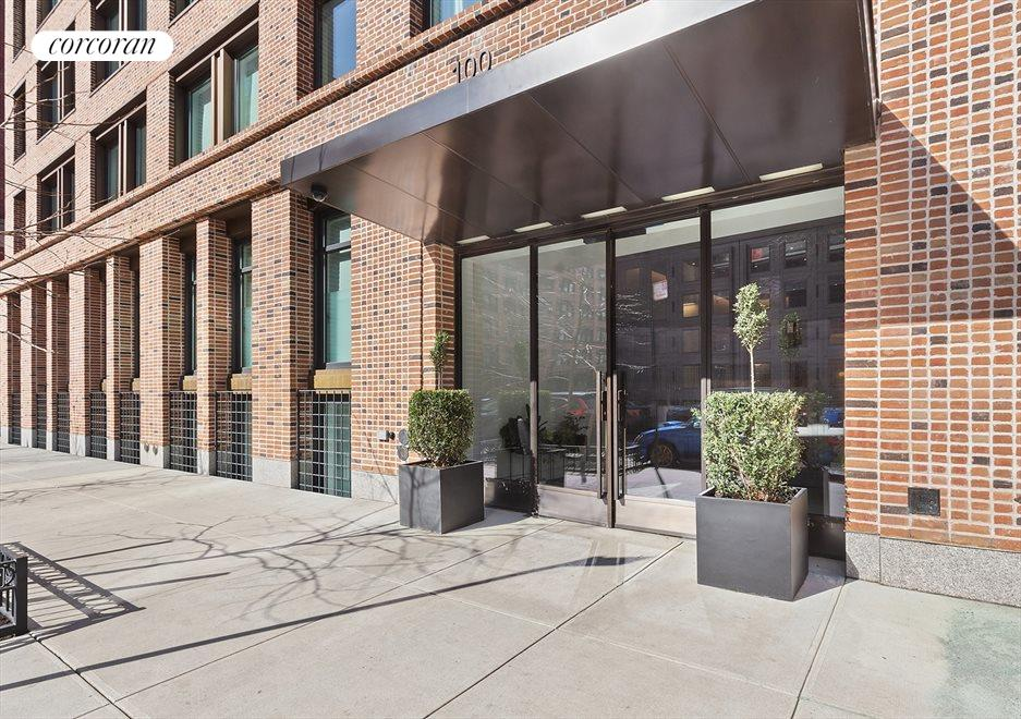 New York City Real Estate | View 100 Barrow Street, #9B | Entrance of 100 Barrow Street