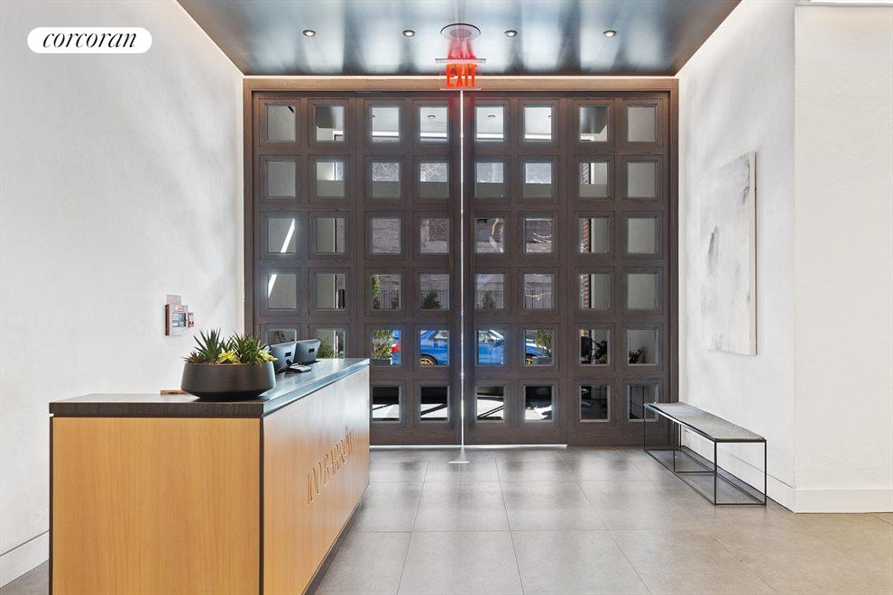 New York City Real Estate | View 100 Barrow Street, #9B | 24-hour Concierge