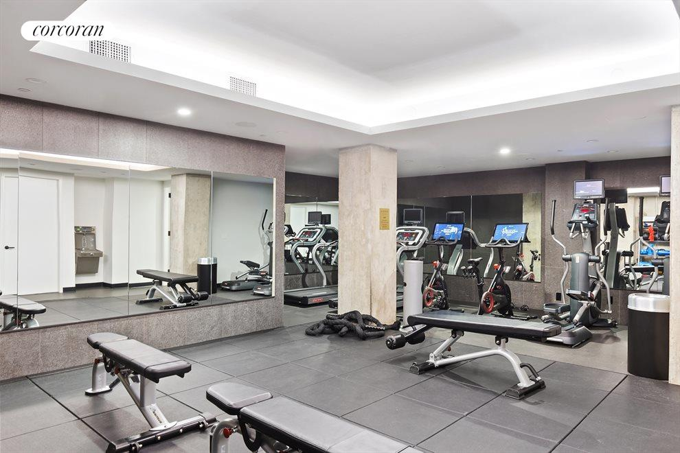 New York City Real Estate | View 100 Barrow Street, #9B | Fitness Center