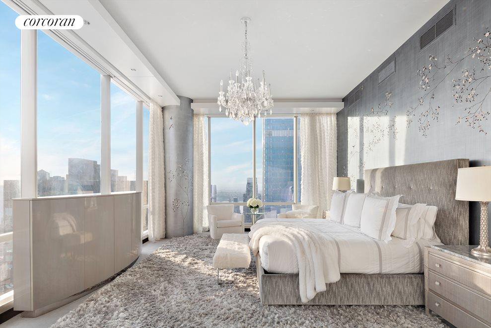 New York City Real Estate | View 157 West 57th Street, #58A | Master Bedroom