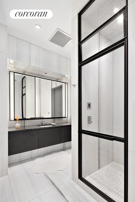 New York City Real Estate | View 157 West 57th Street, #58A | Master Bath