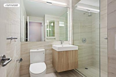 New York City Real Estate | View 11 East 29th Street, #34B | Brand new master bathroom