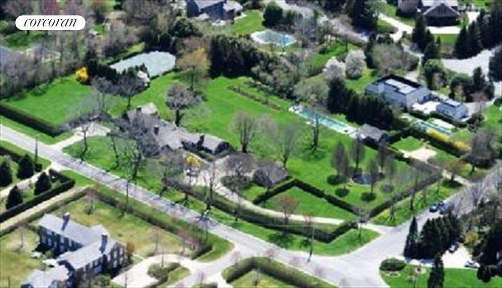 Lush 3 acres with pool and tennis