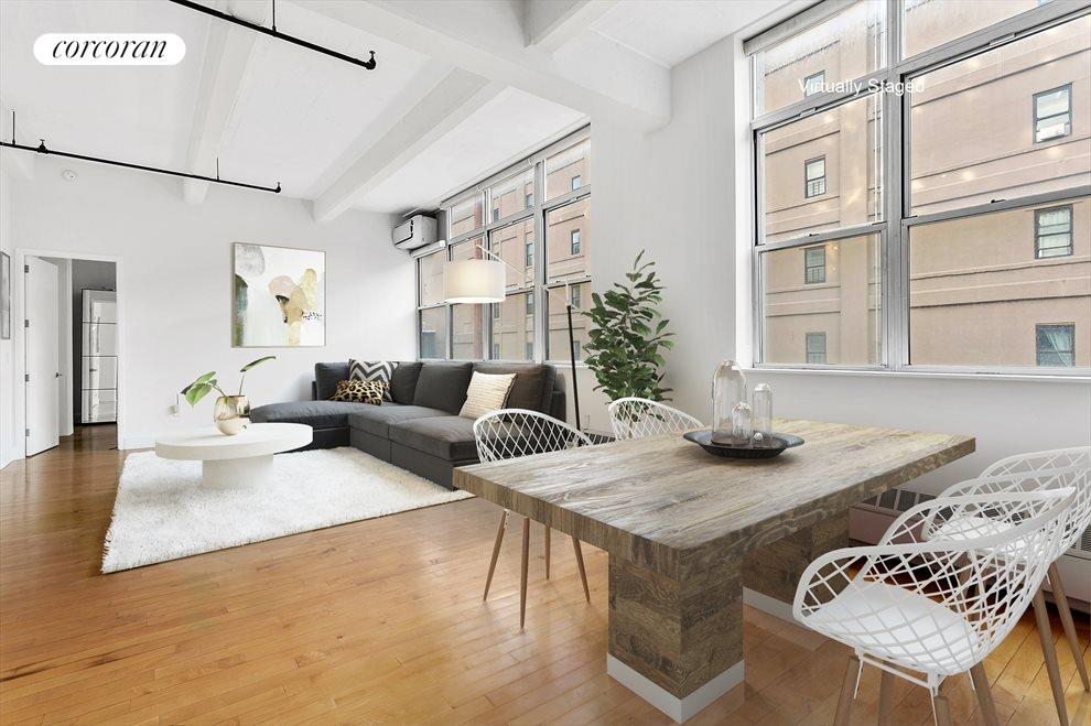 New York City Real Estate | View 970 Kent Avenue, #308 | 1 Bed, 2 Baths