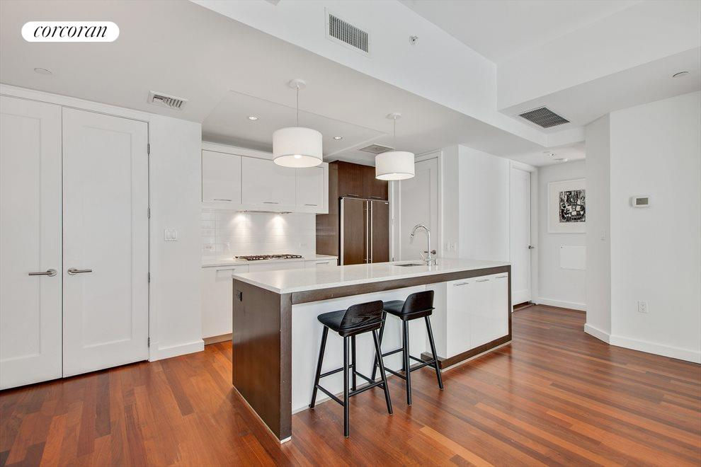 New York City Real Estate | View 125 North 10th Street, #NGD | Great Cabinet Space and Laundry Room