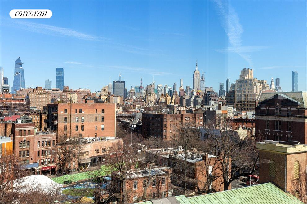 New York City Real Estate | View 100 Barrow Street, #9B | Stunning Open City Views!