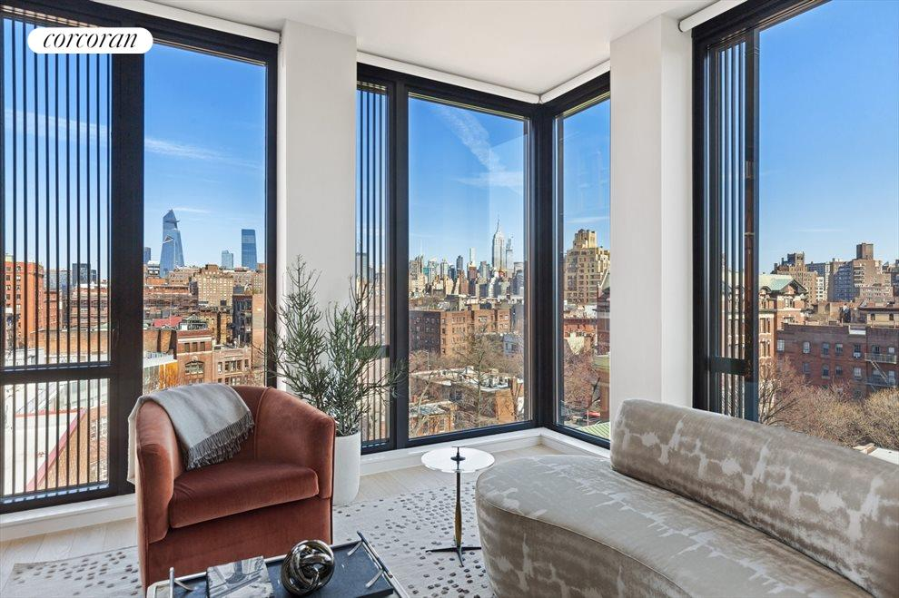 New York City Real Estate | View 100 Barrow Street, #9B | 3 Beds, 3 Baths