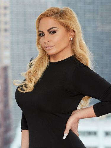 Natalya Disario, a top realtor in New York City for Corcoran, a real estate firm in SoHo.