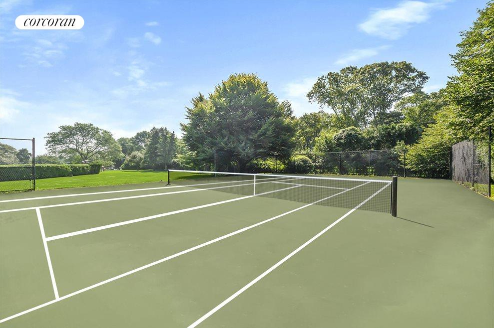 363 Sagaponack Road - Tennis Court