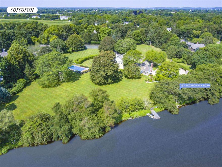 4.9 Acre Waterfront Lot