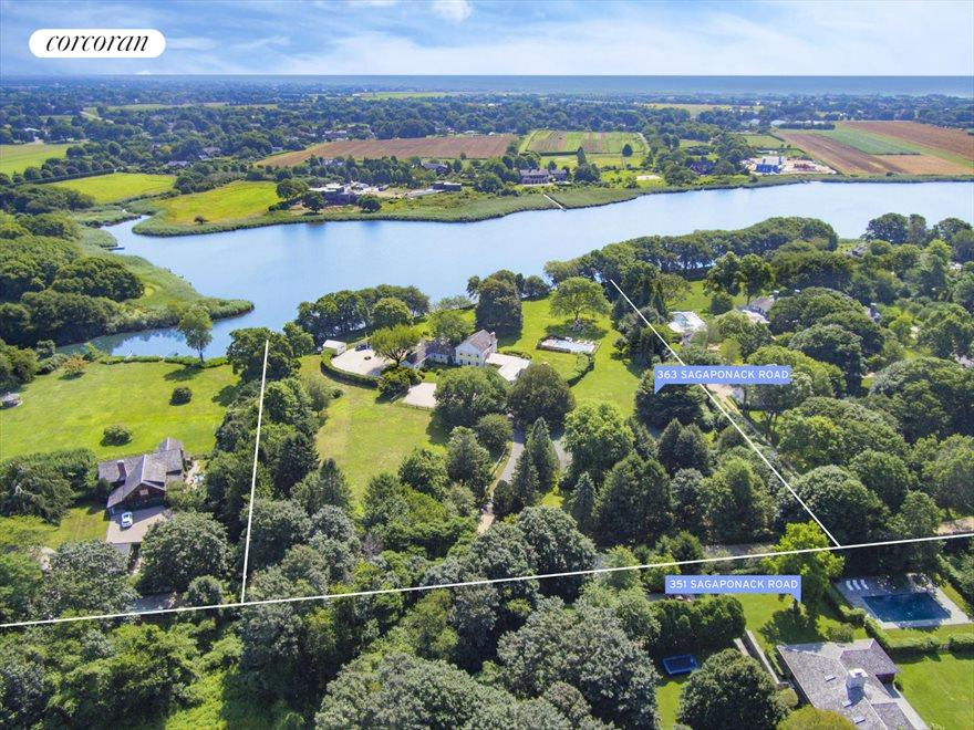 The Hamptons Real Estate | View 363 & 351 Sagaponack Road | room 11