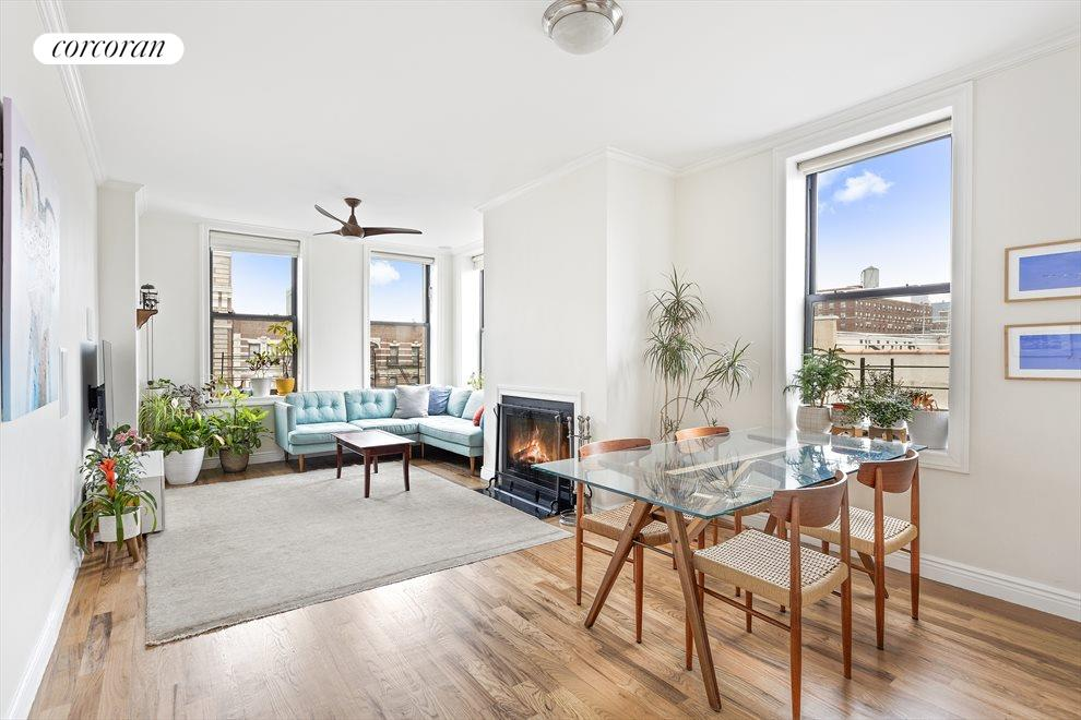 New York City Real Estate | View 100 West 119th Street, #6A | 4 Beds, 2 Baths