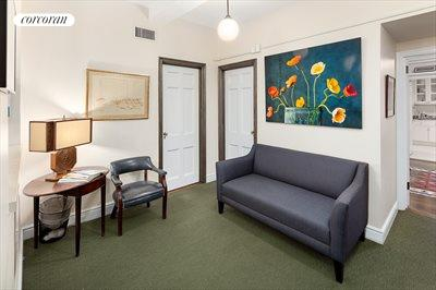 New York City Real Estate | View 160 East 72nd Street, #1A | Patient Waiting Area