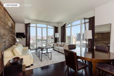 New York City Real Estate | View 400 West 12th Street, #16A | 2 Beds, 2 Baths