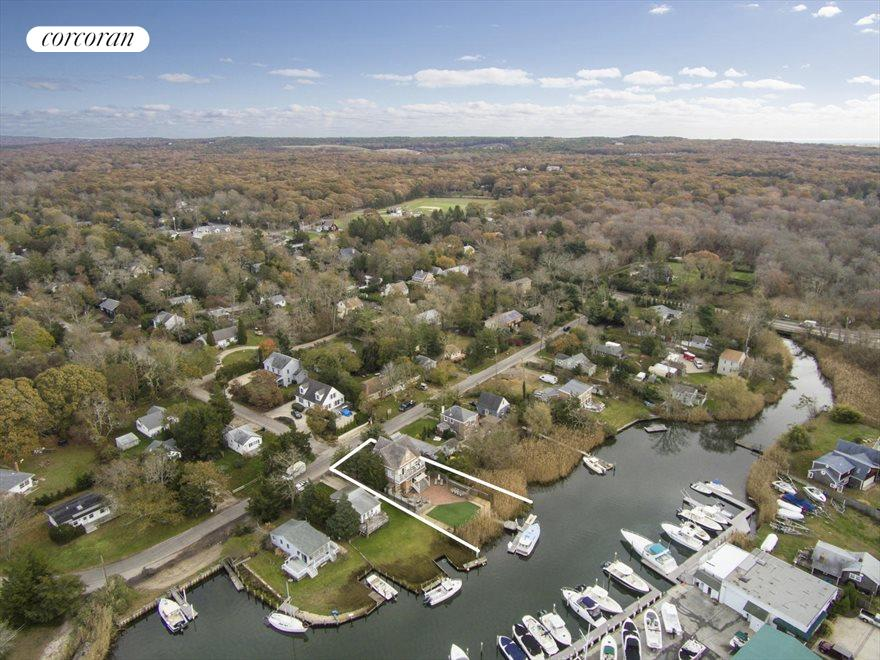 The Hamptons Real Estate | View Southampton | Aerial