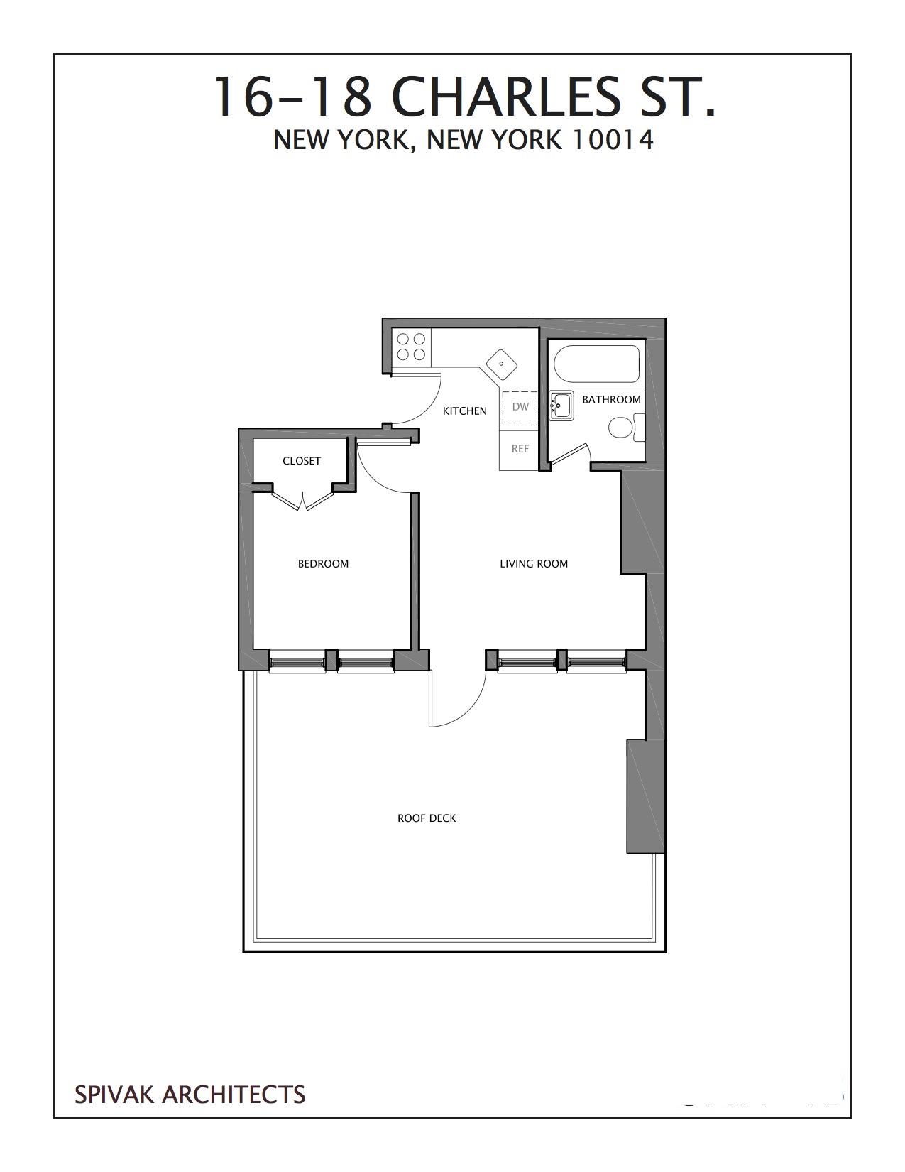 16-18 Charles Street Greenwich Village New York NY 10014