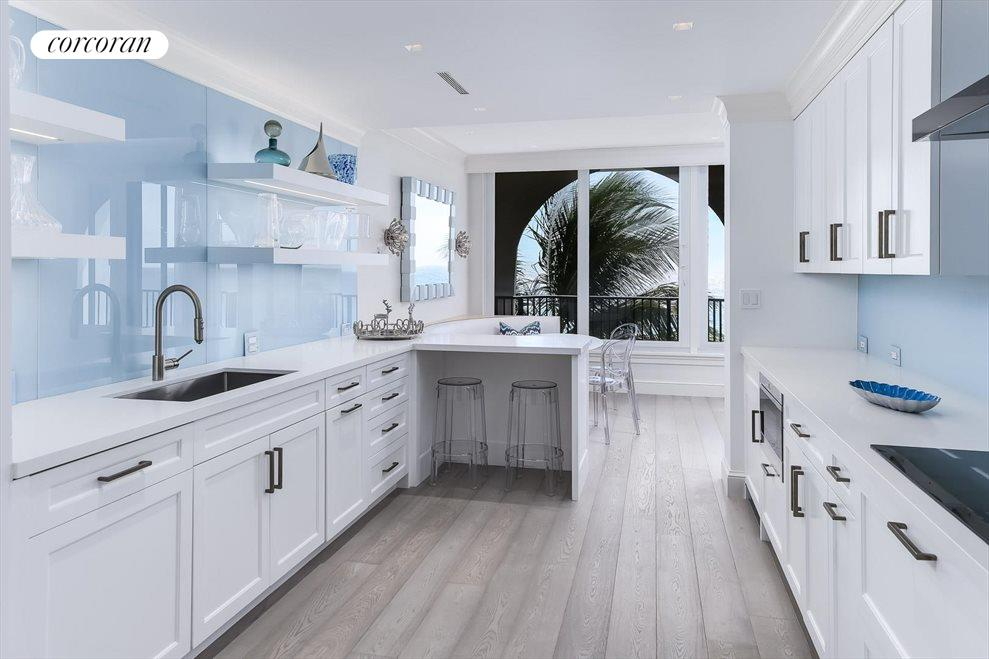 South Florida Real Estate | View 360 South Ocean Blvd 5A | Kitchen
