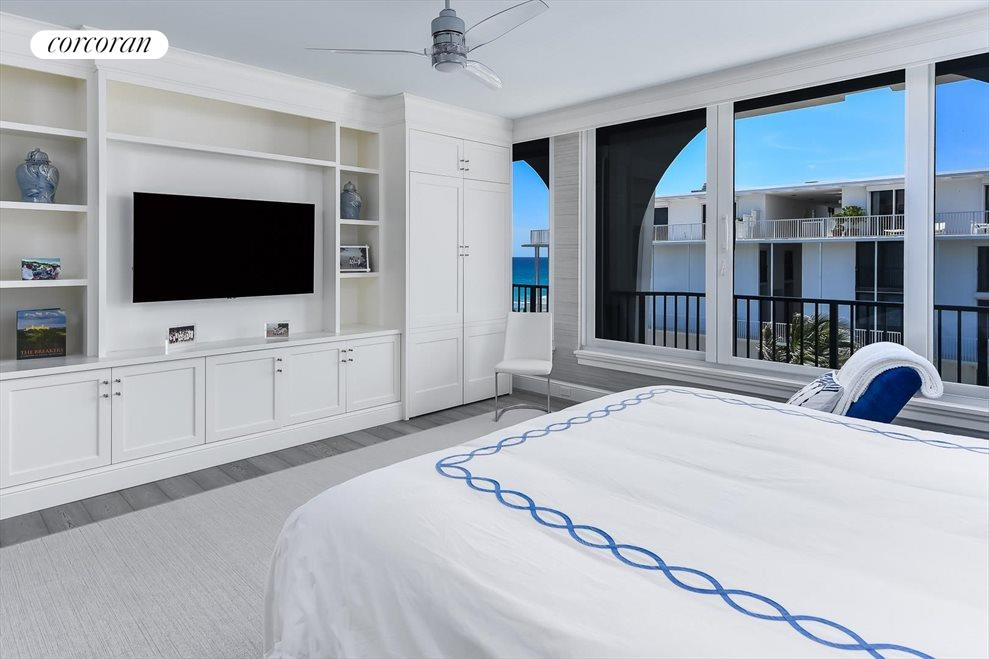 South Florida Real Estate | View 360 South Ocean Blvd 5A | Master Bedroom