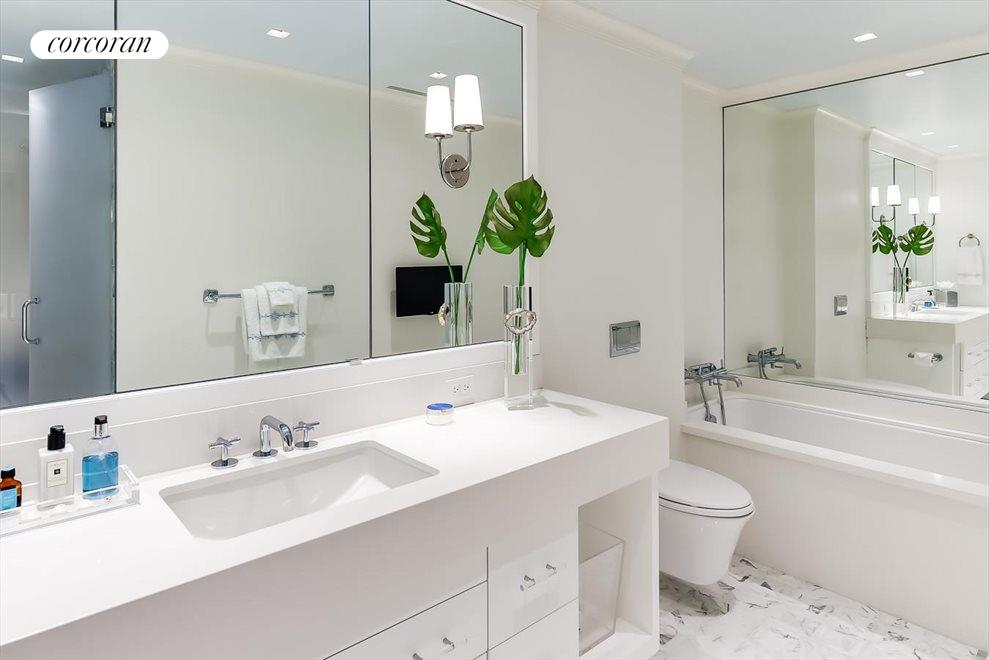 South Florida Real Estate | View 360 South Ocean Blvd 5A | Master Bathroom 1