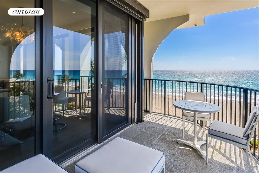 South Florida Real Estate | View 360 South Ocean Blvd 5A | Balcony