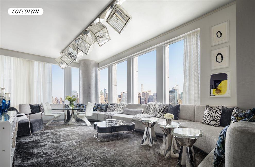 New York City Real Estate | View 35 HUDSON YARDS, #8603 | 3 Beds, 3.5 Baths