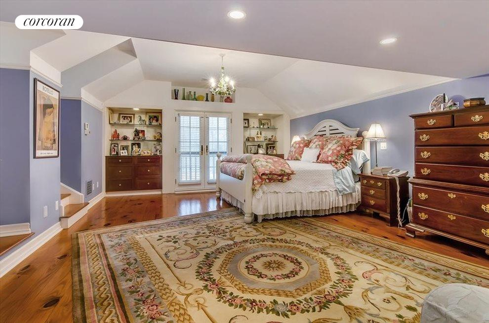 South facing large master suite