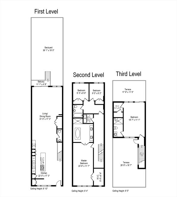 New York City Real Estate | View 44 Madison Street | Floorplan 4