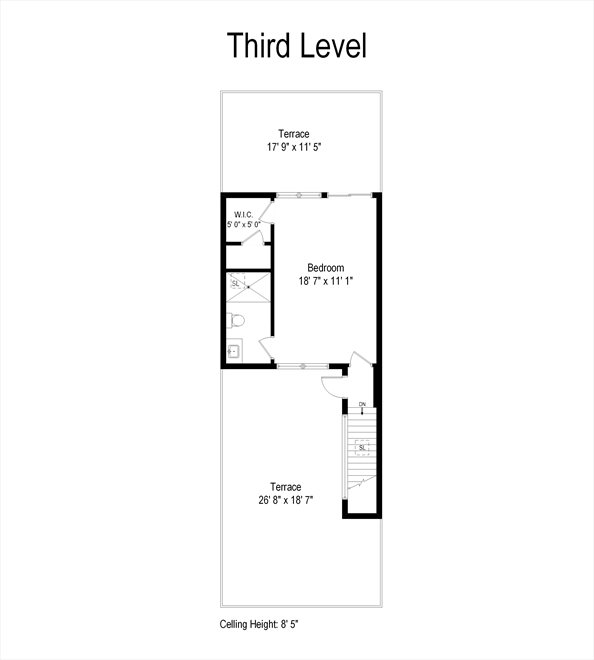New York City Real Estate | View 44 Madison Street | Floorplan 3