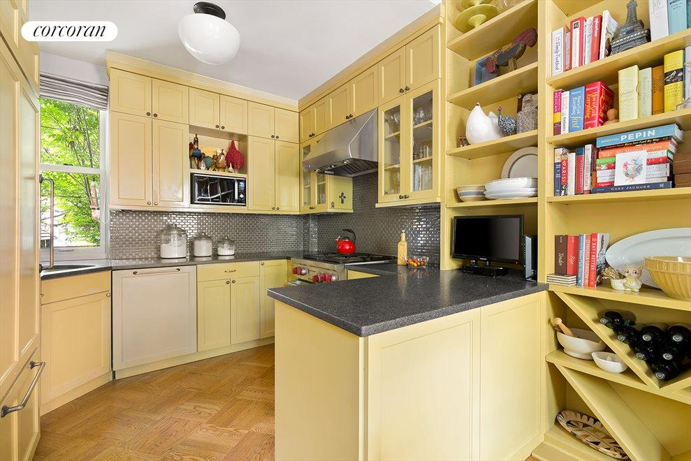 New York City Real Estate | View 206 Warren Street | Kitchen with a view