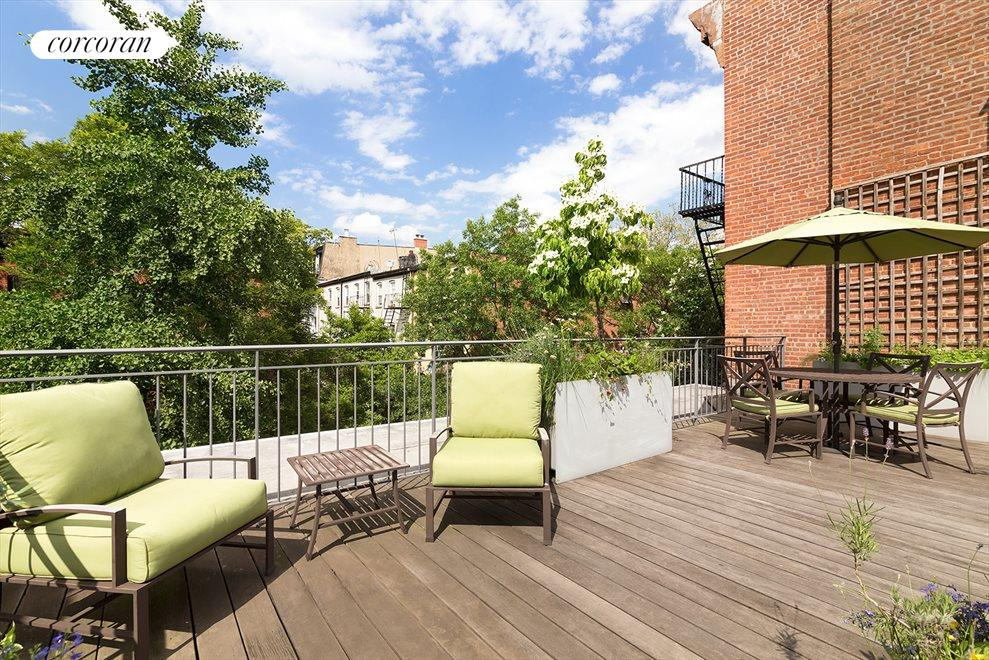 New York City Real Estate | View 206 Warren Street | Private Roof Deck