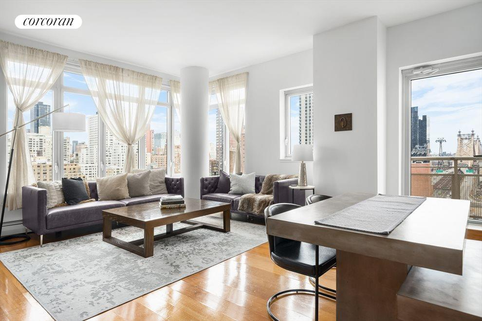 New York City Real Estate | View 205 East 59th Street, #14A | 1 Bed, 1.5 Baths