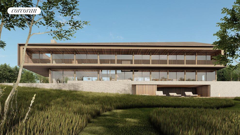 potential modern home rear exterior