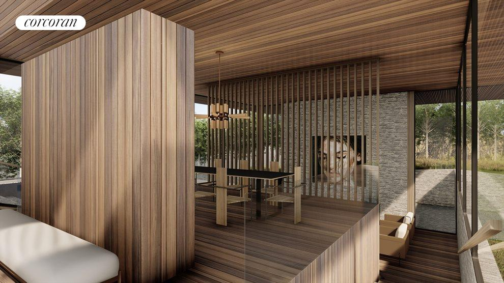 potential modern home interior