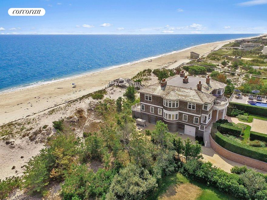The Hamptons Real Estate | View 83 Dune Road | 10 Beds, 12 Baths
