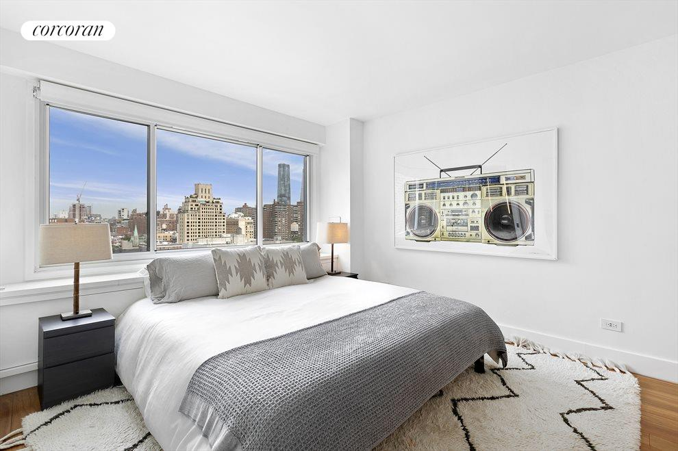New York City Real Estate | View 201 West 21st Street, #PH14/15 | Upstairs Master Bedroom