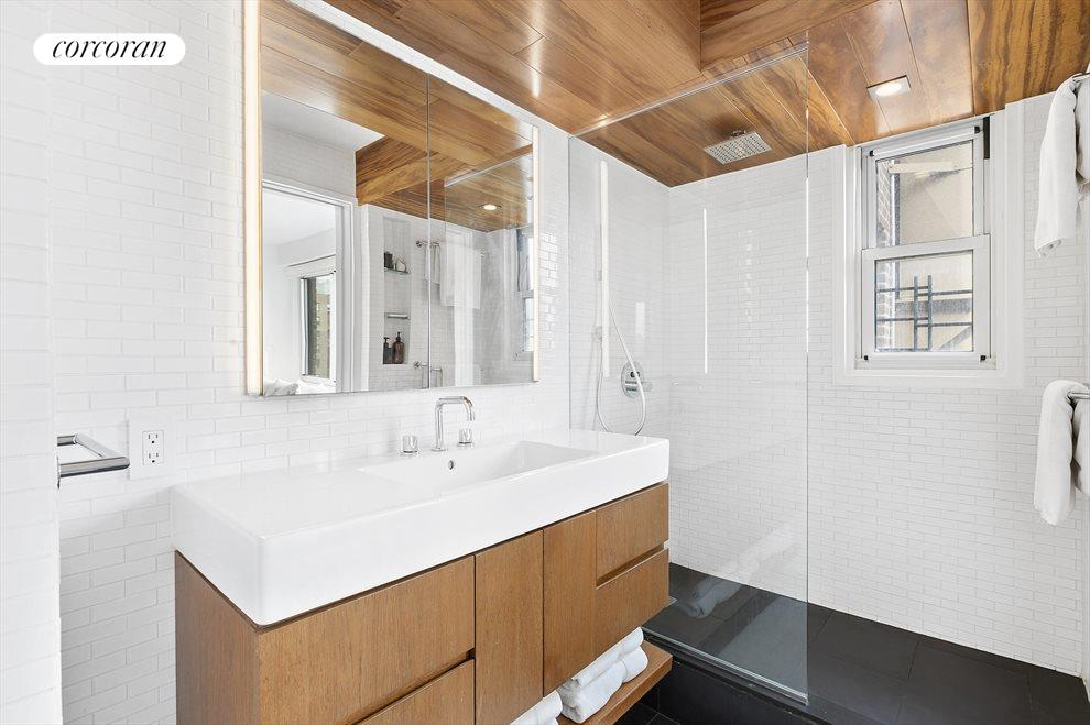 New York City Real Estate | View 201 West 21st Street, #PH14/15 | Upstairs Master Bathroom