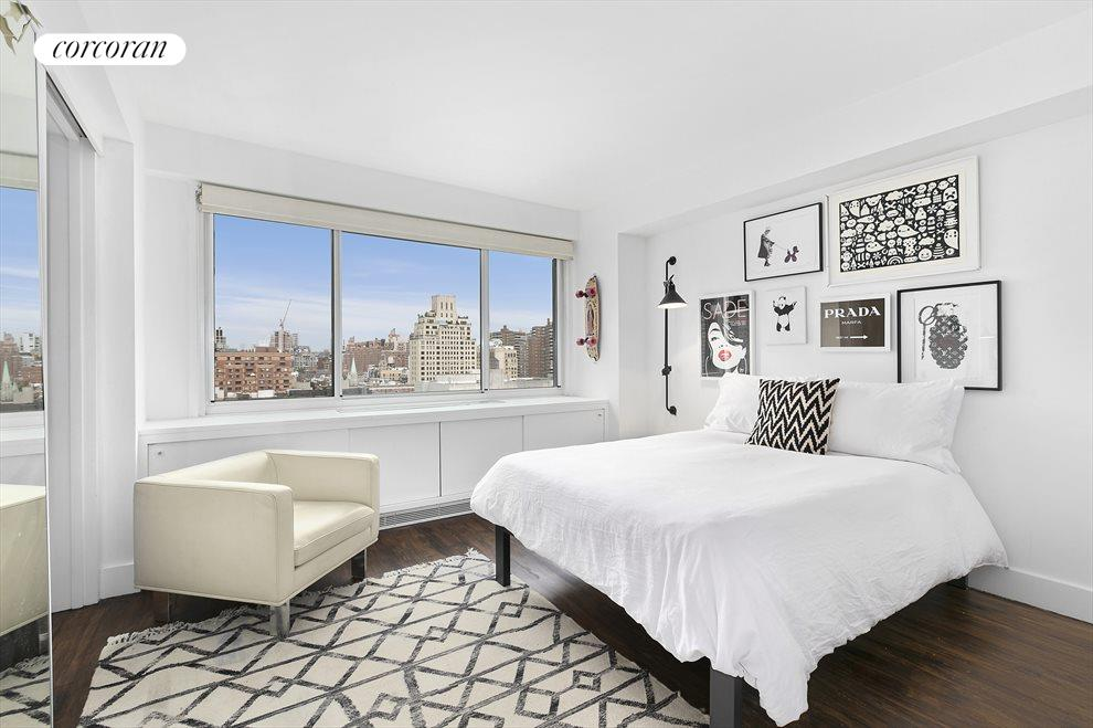New York City Real Estate | View 201 West 21st Street, #PH14/15 | Downstairs Master Bedroom