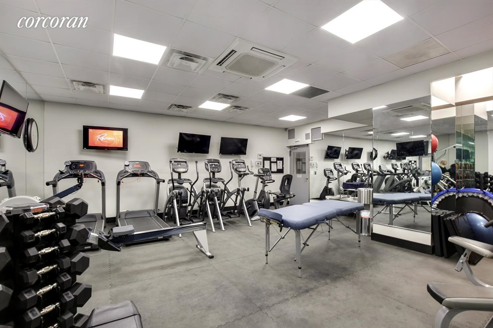 New York City Real Estate | View 150 East 61st Street, #9H | Brand New Fitness Center