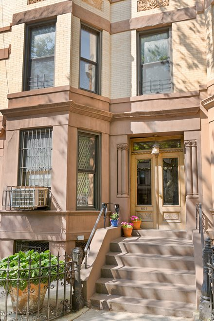 New York City Real Estate | View 801 Union Street, #2 | 4 Unit Boutique Co-op