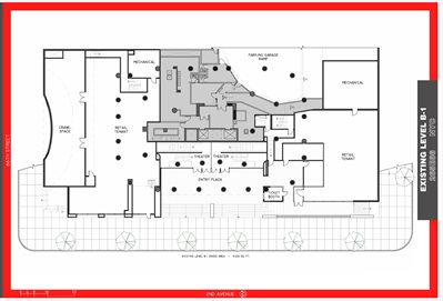 New York City Real Estate | View 260 East 67th Street, #RETAIL | Floorplan 1