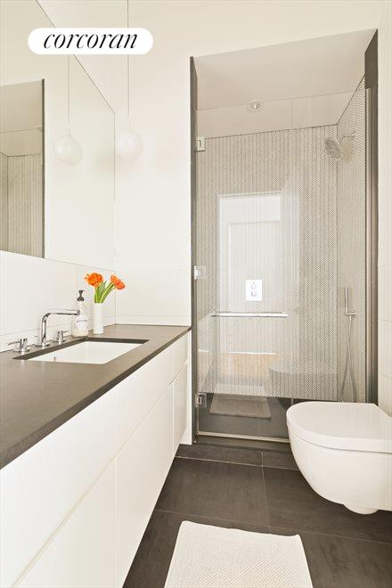 New York City Real Estate | View 438 12th Street, #3D | Spa Bathroom