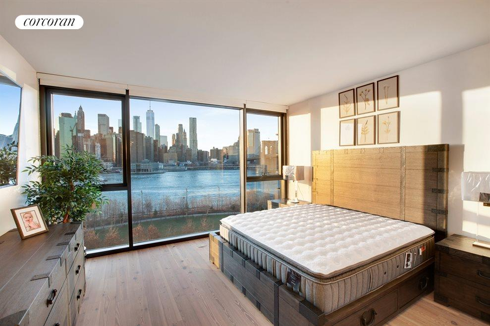 New York City Real Estate | View 90 Furman Street, #N1016 | Master Bedroom