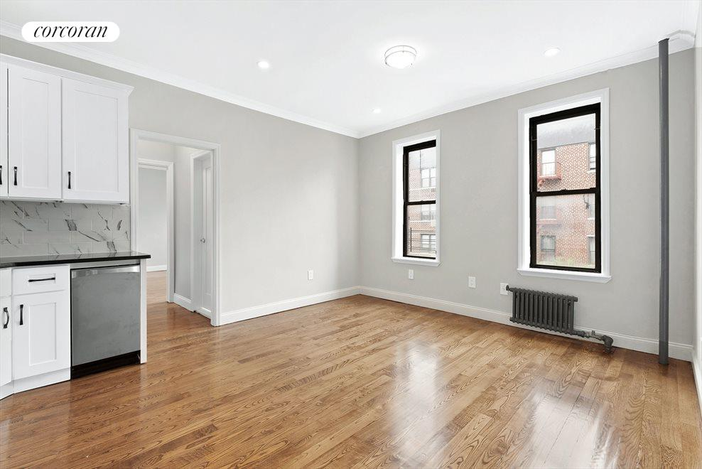 New York City Real Estate | View 918 East 14th Street, #E-4 | 2 Beds, 1 Bath