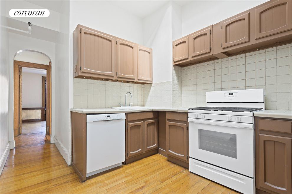 New York City Real Estate | View 263 West 90th Street | Kitchen in floor-thru apartment