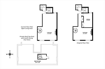 New York City Real Estate | View 105 West 77th Street, #5A | Floorplan
