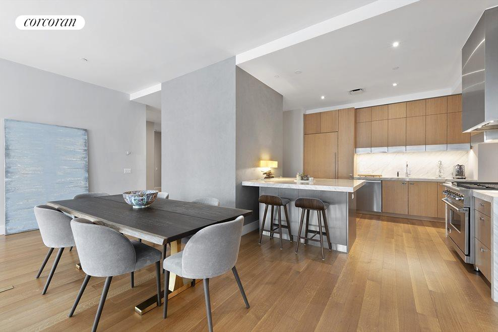 New York City Real Estate | View 15 HUBERT ST, #PHC | Dining & Kitchen